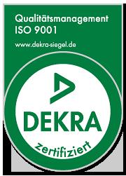 Flugzeugreinigung Berlin REIL Dekra Siegel ISO 9001