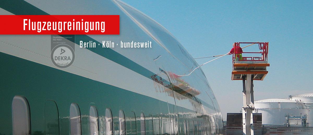 Flugzeugreinigung Berlin Köln bundesweit